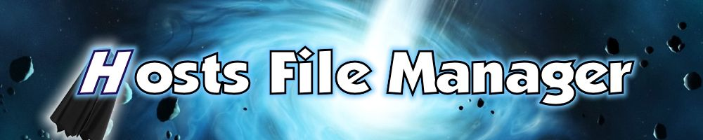 Hosts File Manager :: Open Source Hosts File Editor Logo